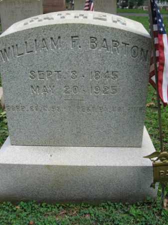 BARTON, CORP. WILLIAM F. - Northampton County, Pennsylvania | CORP. WILLIAM F. BARTON - Pennsylvania Gravestone Photos