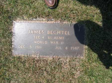 BECHTEL, JAMES - Northampton County, Pennsylvania | JAMES BECHTEL - Pennsylvania Gravestone Photos