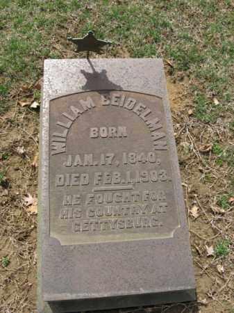 BEIDELMAN (CW), WILLIAM - Northampton County, Pennsylvania | WILLIAM BEIDELMAN (CW) - Pennsylvania Gravestone Photos