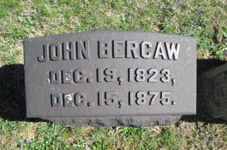 BERCAW, JOHN - Northampton County, Pennsylvania | JOHN BERCAW - Pennsylvania Gravestone Photos