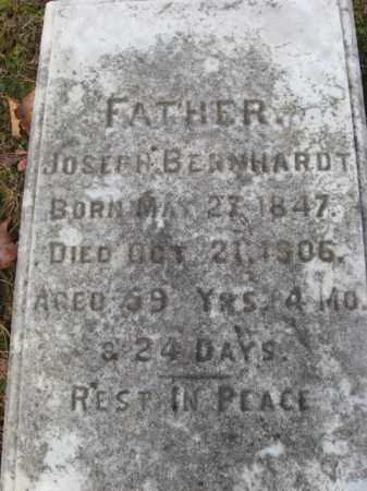 BERNHARDT, JOSEPH - Northampton County, Pennsylvania | JOSEPH BERNHARDT - Pennsylvania Gravestone Photos