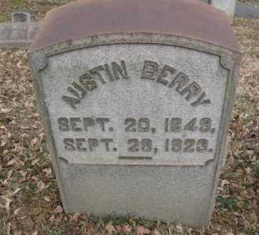 BERRY, AUSTIN - Northampton County, Pennsylvania | AUSTIN BERRY - Pennsylvania Gravestone Photos