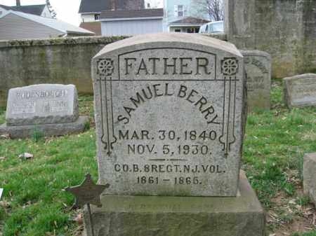 BERRY, SAMUEL - Northampton County, Pennsylvania | SAMUEL BERRY - Pennsylvania Gravestone Photos