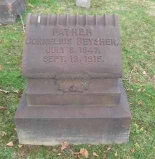 BEYSHER, CORNELIUS - Northampton County, Pennsylvania | CORNELIUS BEYSHER - Pennsylvania Gravestone Photos
