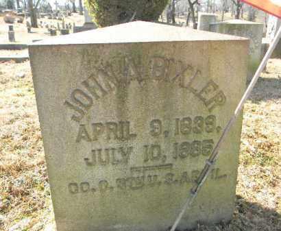 BIXLER (CW), JOHN A. - Northampton County, Pennsylvania | JOHN A. BIXLER (CW) - Pennsylvania Gravestone Photos