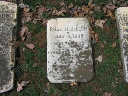 BIXLER, RUSH H. - Northampton County, Pennsylvania | RUSH H. BIXLER - Pennsylvania Gravestone Photos