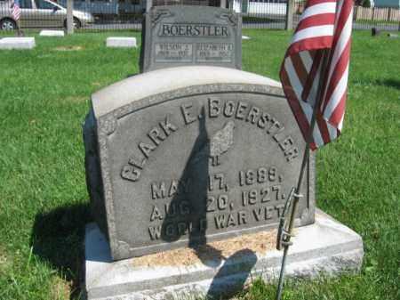 BOERSTLER, CLARK E. - Northampton County, Pennsylvania | CLARK E. BOERSTLER - Pennsylvania Gravestone Photos