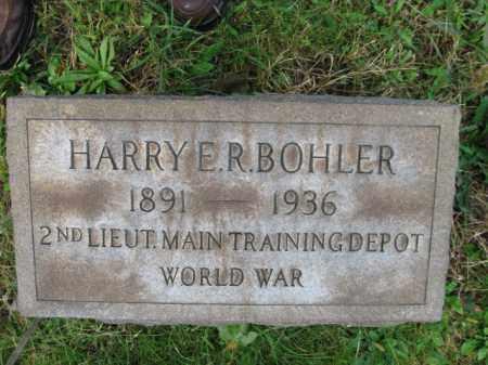 BOHLER, HARRY E.R. - Northampton County, Pennsylvania | HARRY E.R. BOHLER - Pennsylvania Gravestone Photos