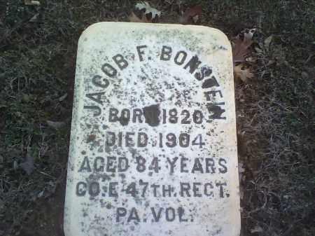 BONSTEIN, JACOB F. - Northampton County, Pennsylvania | JACOB F. BONSTEIN - Pennsylvania Gravestone Photos