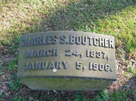 BOUTCHER, CHARLES S. - Northampton County, Pennsylvania | CHARLES S. BOUTCHER - Pennsylvania Gravestone Photos
