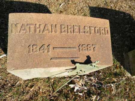 BRELSFORD (CW), NATHAN - Northampton County, Pennsylvania | NATHAN BRELSFORD (CW) - Pennsylvania Gravestone Photos