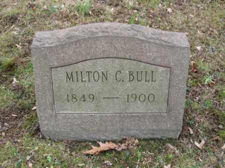 BULL, MILTON C. - Northampton County, Pennsylvania | MILTON C. BULL - Pennsylvania Gravestone Photos