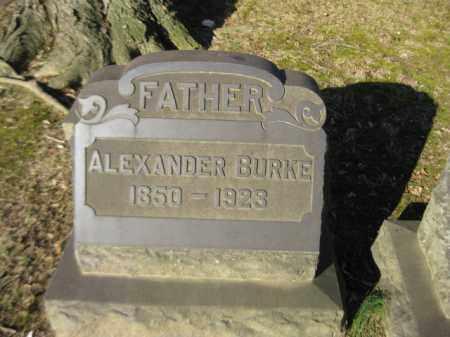 BURKE, ALEXANDER - Northampton County, Pennsylvania | ALEXANDER BURKE - Pennsylvania Gravestone Photos