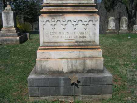 BURKE, EDWIN RUNKLE - Northampton County, Pennsylvania | EDWIN RUNKLE BURKE - Pennsylvania Gravestone Photos