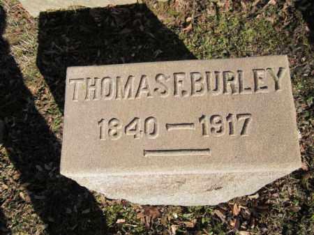 BURLEY, THOMAS F. - Northampton County, Pennsylvania | THOMAS F. BURLEY - Pennsylvania Gravestone Photos