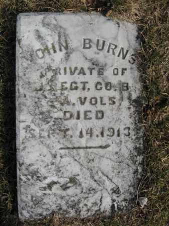 BURNS (CW), PVT.JOHN - Northampton County, Pennsylvania | PVT.JOHN BURNS (CW) - Pennsylvania Gravestone Photos