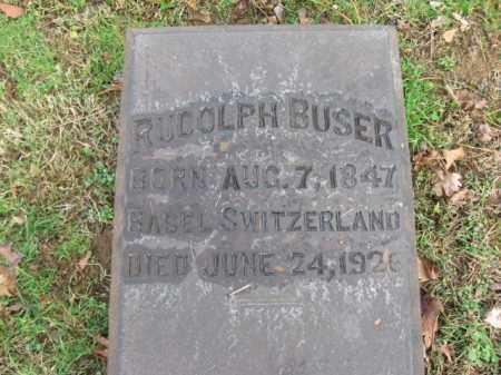 BUSER, RUDOLPH - Northampton County, Pennsylvania | RUDOLPH BUSER - Pennsylvania Gravestone Photos