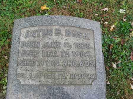 BUSH, ANTON (ANTHONY) B. - Northampton County, Pennsylvania | ANTON (ANTHONY) B. BUSH - Pennsylvania Gravestone Photos