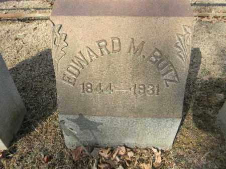BUTZ, EDWARD M. - Northampton County, Pennsylvania   EDWARD M. BUTZ - Pennsylvania Gravestone Photos