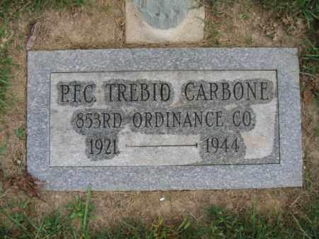 CARBONE, PFC. TREBID - Northampton County, Pennsylvania | PFC. TREBID CARBONE - Pennsylvania Gravestone Photos