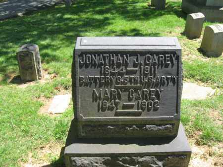 CAREY, JONATHAN J. - Northampton County, Pennsylvania | JONATHAN J. CAREY - Pennsylvania Gravestone Photos