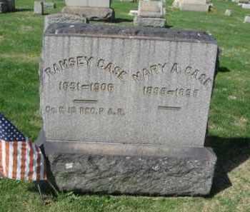 CASE, MARY A. - Northampton County, Pennsylvania | MARY A. CASE - Pennsylvania Gravestone Photos