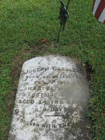 CASSLER, JOSEPH - Northampton County, Pennsylvania | JOSEPH CASSLER - Pennsylvania Gravestone Photos
