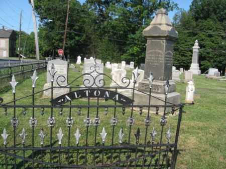 CEMETERY NAME, ALTONA - Northampton County, Pennsylvania   ALTONA CEMETERY NAME - Pennsylvania Gravestone Photos
