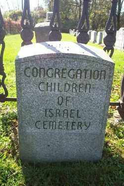 CEMETERY SIGN, CONGREGATION CHILDREN - Northampton County, Pennsylvania | CONGREGATION CHILDREN CEMETERY SIGN - Pennsylvania Gravestone Photos