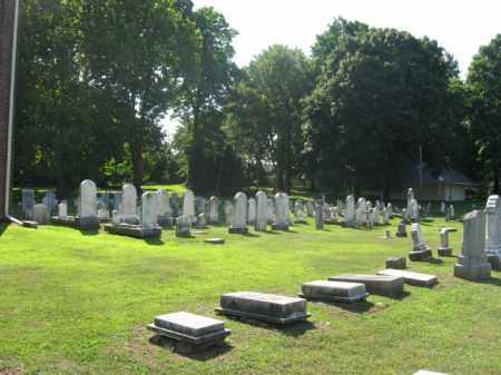 CEMETERY VIEW, ST. THOMAS - Northampton County, Pennsylvania   ST. THOMAS CEMETERY VIEW - Pennsylvania Gravestone Photos