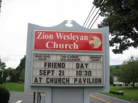 CEMETERY, ZION WESLEYAN CHURCH - Northampton County, Pennsylvania | ZION WESLEYAN CHURCH CEMETERY - Pennsylvania Gravestone Photos