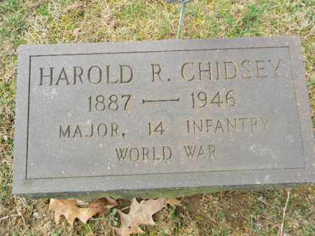 CHIDSEY (WW I), HAROLD R. - Northampton County, Pennsylvania | HAROLD R. CHIDSEY (WW I) - Pennsylvania Gravestone Photos