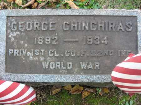 CHINCHIRAS, GEORGE - Northampton County, Pennsylvania   GEORGE CHINCHIRAS - Pennsylvania Gravestone Photos