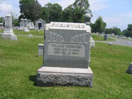 CHRISTINE, WILLIAM - Northampton County, Pennsylvania   WILLIAM CHRISTINE - Pennsylvania Gravestone Photos
