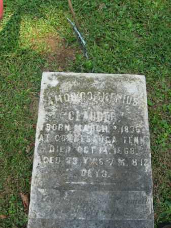 CLAUDER  (CW), AMOS C. - Northampton County, Pennsylvania   AMOS C. CLAUDER  (CW) - Pennsylvania Gravestone Photos