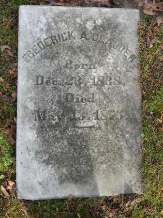 CLAUDER, FREDERICK A. - Northampton County, Pennsylvania   FREDERICK A. CLAUDER - Pennsylvania Gravestone Photos