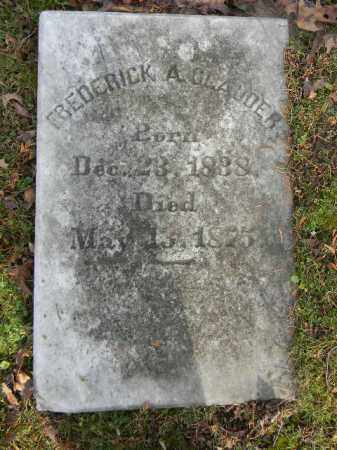 CLAUDER, FREDERICK A. - Northampton County, Pennsylvania | FREDERICK A. CLAUDER - Pennsylvania Gravestone Photos