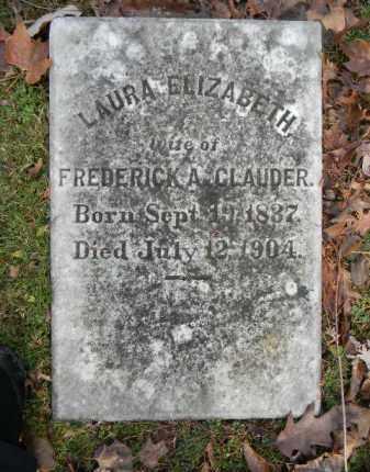 CLAUDER, LAURA ELIZABETH - Northampton County, Pennsylvania | LAURA ELIZABETH CLAUDER - Pennsylvania Gravestone Photos