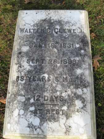 CLEWELL, WALTER C. - Northampton County, Pennsylvania   WALTER C. CLEWELL - Pennsylvania Gravestone Photos