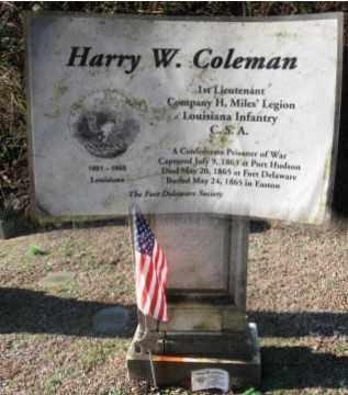 COLEMAN (CW), HARRY (HENRY) W. - Northampton County, Pennsylvania | HARRY (HENRY) W. COLEMAN (CW) - Pennsylvania Gravestone Photos