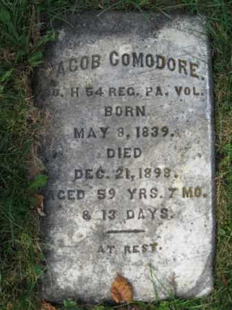 COMODORE, JACOB - Northampton County, Pennsylvania   JACOB COMODORE - Pennsylvania Gravestone Photos