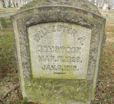 COMSTOCK, SYLVESTER A. - Northampton County, Pennsylvania | SYLVESTER A. COMSTOCK - Pennsylvania Gravestone Photos