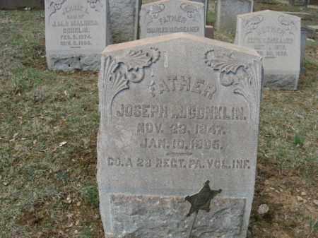 CONKLIN, JOSEPH M. - Northampton County, Pennsylvania | JOSEPH M. CONKLIN - Pennsylvania Gravestone Photos