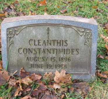 CONSTANTINIDES, CLEANTHIS - Northampton County, Pennsylvania   CLEANTHIS CONSTANTINIDES - Pennsylvania Gravestone Photos