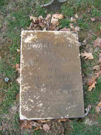 COOK, EDWARD - Northampton County, Pennsylvania | EDWARD COOK - Pennsylvania Gravestone Photos