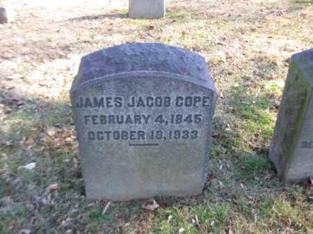 COPE, JAMES JACOB - Northampton County, Pennsylvania | JAMES JACOB COPE - Pennsylvania Gravestone Photos