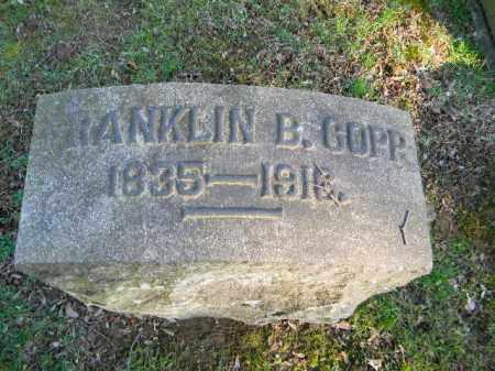 COPP, FRANKLIN - Northampton County, Pennsylvania | FRANKLIN COPP - Pennsylvania Gravestone Photos