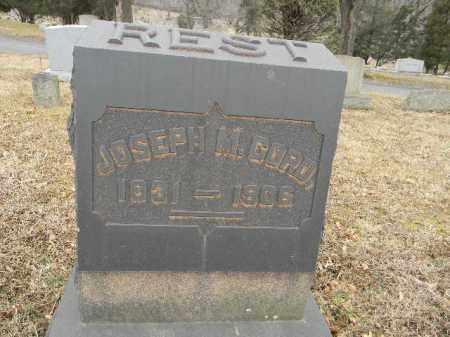 CORD, JOSEPH M. - Northampton County, Pennsylvania | JOSEPH M. CORD - Pennsylvania Gravestone Photos