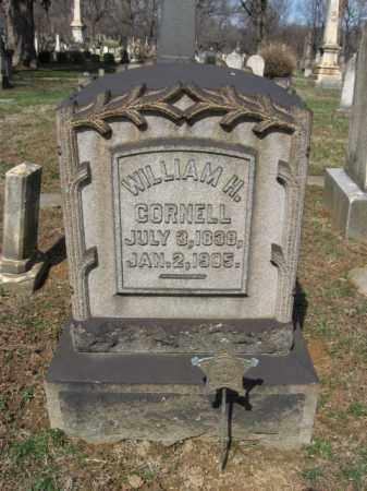 CORNELL (CW), WILLIAM H. - Northampton County, Pennsylvania | WILLIAM H. CORNELL (CW) - Pennsylvania Gravestone Photos