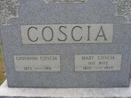 COSCIA, MARY - Northampton County, Pennsylvania | MARY COSCIA - Pennsylvania Gravestone Photos